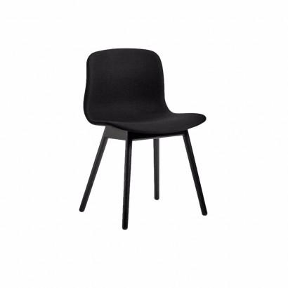 Taitettava tuoli, Flex, musta runko/musta istuin
