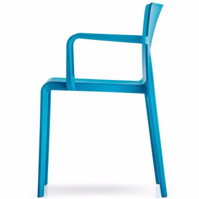 Pinottava ja liitettävä tuoli, Join1, hopeanharmaa runko/sininen kangas
