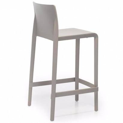 Pinottava ja liitettävä tuoli, Join1, hopeanharmaa runko/musta kangas