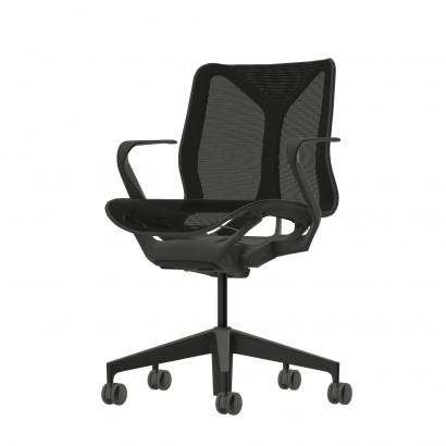 Höhenverstellbarer Schreibtisch in Eckform, weißes Gestell und eine Tischplatte in Birke- Premium