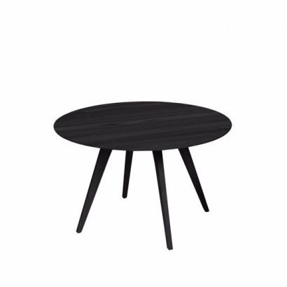 Spot bord - svartlaserad ask, ø¸55 cm