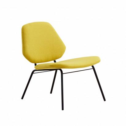 Lean Lounge fåtölj - mustard
