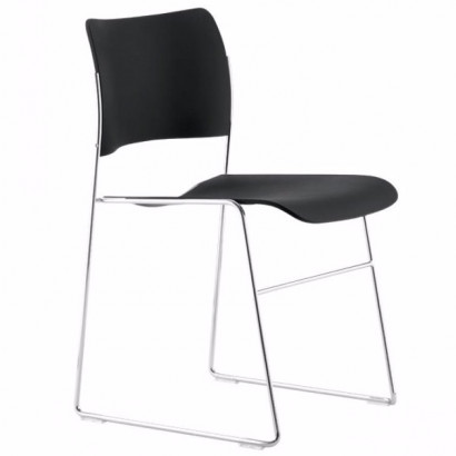 Stol 40/4 Side Chair, plast