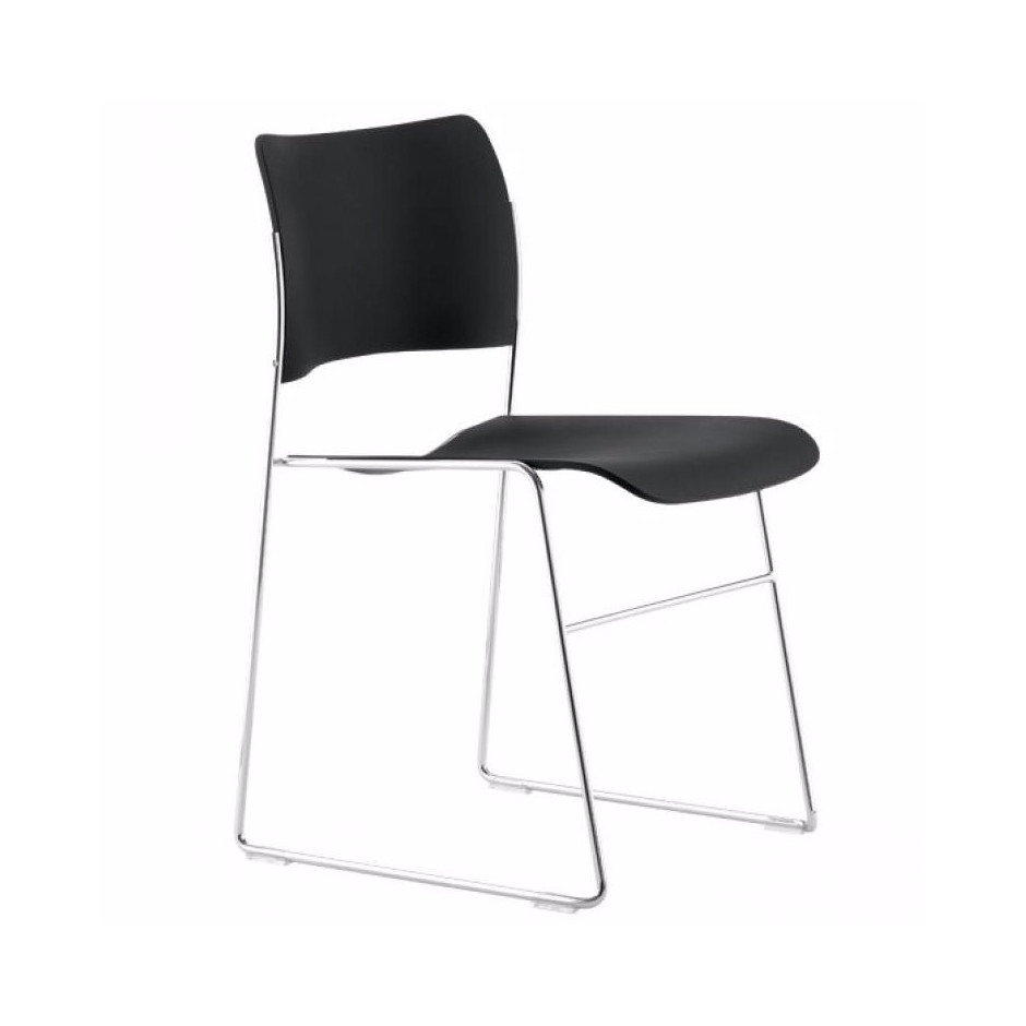 Stol 40/4 Side Chair, plast