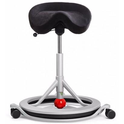 Ant Sadelstol Back app med hjul