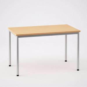Skrivbord med 4 ben, 1400x800mm