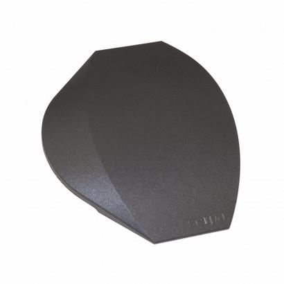 Ändstycken till mjuk Golvlist, 150 mm, Grå