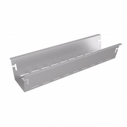 Axessline Uttagsbrunn för ellist 670 x 220 mm, Silver