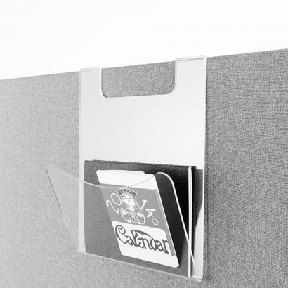 Brevhylla i transparent akryl - Tillbehör till Abstractas skärmar