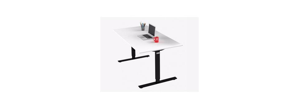 Schreibtisch mit T-Gestell