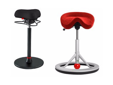 Sattelhocker & Balance-Stuhl