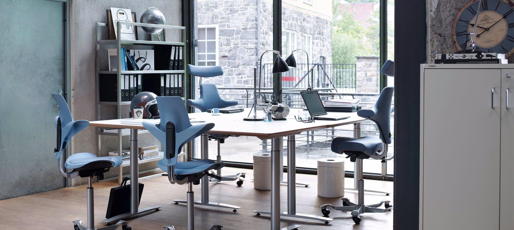 Der Bürodrehstuhl HÅG Capisco