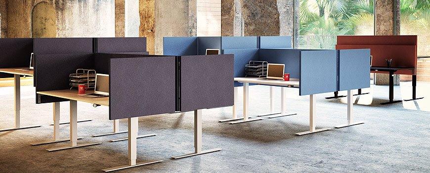 Schallabsorbierende Möbel für mehr Ruhe im Büro