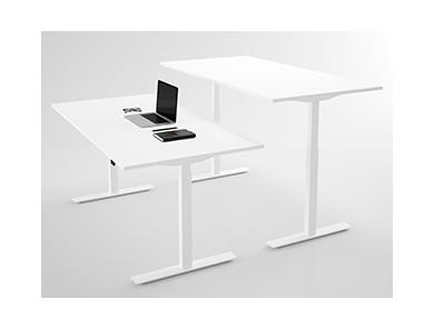 Hæve sænkebord med lige bordplade