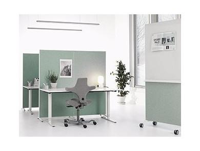 Skærmvægge til kontoret - Priser fra 1.350 kr - DPJ Workspace