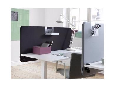 Lydabsorberende bordskærm | DPJ Workspace