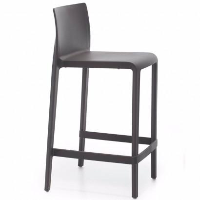 Tuoli, Focus, hopea runko/harmaa kangas